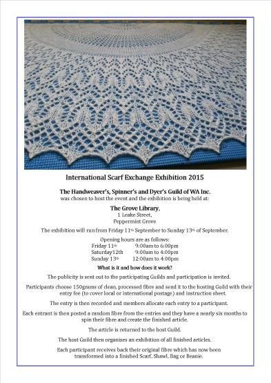 Spinning, Weaving, Shawl exhibition, Perth, loom