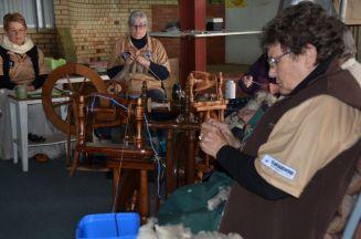 Knitting that greasy wool jumper